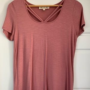Simple Pink T-Shirt